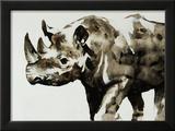 Safari Series II Framed Giclee Print by Sydney Edmunds