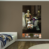 Star Wars: Episode VII The Force Awakens Droids Mural Wall Mural