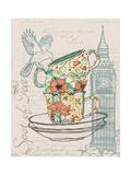 Spot of Tea Kunstdruck von Piper Ballantyne