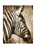 African Animals II - Sepia Art by Eric Yang