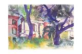 Foccaceria E Chiesa, Italy, 2003 Giclee Print by Simon Fletcher