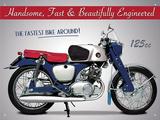 Honda CB92 Benly Tin Sign