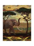 Jungle Giants I Lámina por Eric Yang