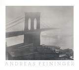 Brooklyn Bridge, NY (1948) Collectable Print by Andreas Feininger