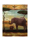Jungle Giants II Láminas por Eric Yang