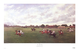A Game of Polo at Rugby Collectable Print by Henry F. Lucas-Lucas