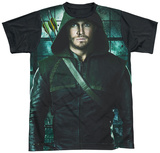 Arrow - Two Sides Black Back T-Shirt