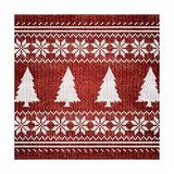 Red Nordic Sweater II Prints by  Artique Studio