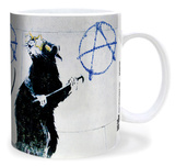 Banksy Anarchy Rat Mug Mug