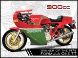 Ducati 900CC Mike Hailwood Targa di latta