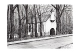 The White Chapel, Aviemore, 2007 Giclee Print by Vincent Alexander Booth