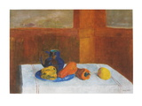Still Life with Peppers and Pitcher Art by Odilon Redon