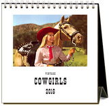 Cowgirls - 2016 Easel Calendar Calendars