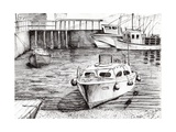 Boats, Islay, Scotland, 2005 Giclee Print by Vincent Alexander Booth