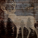 Rustic Deer Prints by Piper Ballantyne