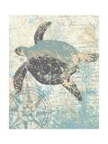 Sea Turtles II Kunst van Piper Ballantyne