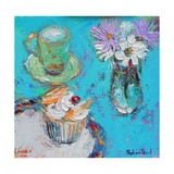 Butterfly Cake Giclee Print by Sylvia Paul