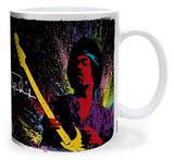Jimi Hendrix - Paint Mug Mug