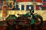 Bike Route 66 I Posters par Eric Yang