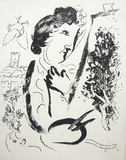 Before the Picture Collectable Print by Marc Chagall