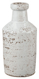 Rustic White Milk Bottle Home Accessories