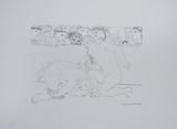 Minotauro Vencido Prints by Pablo Picasso