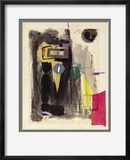 Robert Motherwell - Untitled, 1943 - Çerçeveli Giclee Baskı