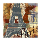 Tour Paris Posters by Eric Yang