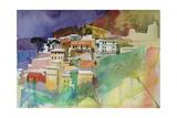 Riomaggiore Cinqueterre, Italy, 2002 Giclee Print by Simon Fletcher