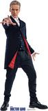 Doctor Who - 12th Doctor Peter Capaldi Silhouettes découpées en carton