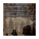 Rustic Bear Poster by Piper Ballantyne