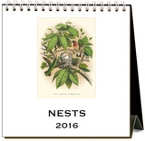 Nests - 2016 Easel Calendar Calendars