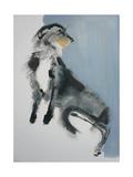 Wolfhound Giclee Print by Sally Muir
