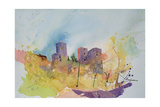 Caseneuve, France, 2001 Giclee Print by Simon Fletcher