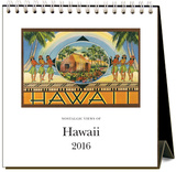 Hawaii - 2016 Easel Calendar Calendars