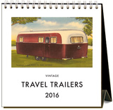 Travel Trailers - 2016 Easel Calendar Calendars