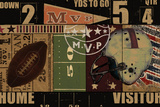 Vintage Stadium Posters av Eric Yang