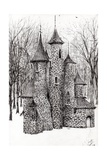 The Castle in the Forest of Findhorn, 2008 Giclee Print by Vincent Alexander Booth