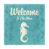 Welcome to the Shore Lámina por Piper Ballantyne