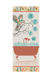 Renew Bird Bath Prints by Piper Ballantyne
