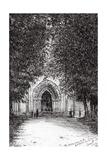 The Roman Door, L'Abbey De Blassimon, 2010 Giclee Print by Vincent Alexander Booth