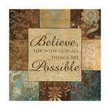 With God Posters by  Artique Studio