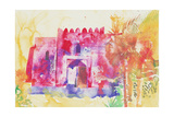 Jabreen Walls, Oman, 2005 Giclee Print by Simon Fletcher