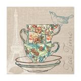 Tea Time Kunstdrucke von Piper Ballantyne