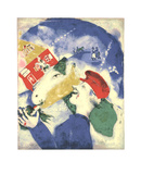 Peasant Life (La Vie Paysanne) Serigraph by Marc Chagall