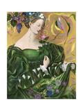 Virgo, 2006 Lámina giclée por Annael Anelia Pavlova