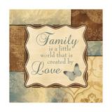 Family Is a Little World Schilderij van Piper Ballantyne