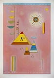 Pink Sweet Collectable Print by Wassily Kandinsky