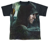 Youth: Arrow - Hero Black Back T-shirts