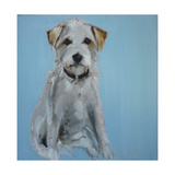 Terrier Giclee Print by Sally Muir